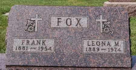 FOX, FRANK - Hanson County, South Dakota | FRANK FOX - South Dakota Gravestone Photos