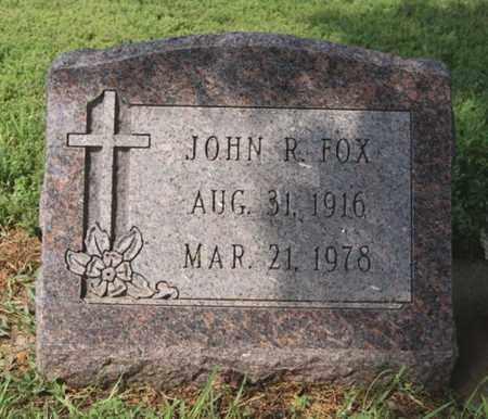 FOX, JOHN R - Hanson County, South Dakota | JOHN R FOX - South Dakota Gravestone Photos