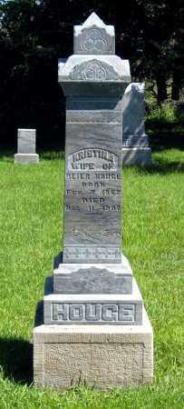 HOUGE, KRISTINA - Hanson County, South Dakota   KRISTINA HOUGE - South Dakota Gravestone Photos