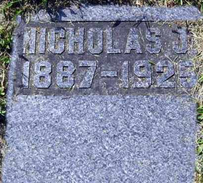 KIES, NICHOLAS - Hanson County, South Dakota | NICHOLAS KIES - South Dakota Gravestone Photos