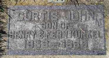 KUNKEL, CURTIS JOHN - Hanson County, South Dakota   CURTIS JOHN KUNKEL - South Dakota Gravestone Photos