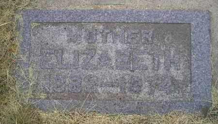 KUNKEL, ELIZABETH - Hanson County, South Dakota   ELIZABETH KUNKEL - South Dakota Gravestone Photos