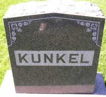 KUNKEL, FAMILY STONE - Hanson County, South Dakota   FAMILY STONE KUNKEL - South Dakota Gravestone Photos