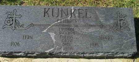 KUNKEL, HENRY - Hanson County, South Dakota | HENRY KUNKEL - South Dakota Gravestone Photos