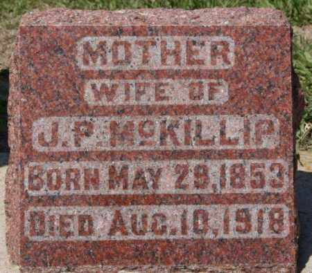 MCKILLIP, ELIZABETH - Hanson County, South Dakota | ELIZABETH MCKILLIP - South Dakota Gravestone Photos