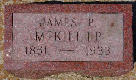 MCKILLIP, JAMES P - Hanson County, South Dakota   JAMES P MCKILLIP - South Dakota Gravestone Photos