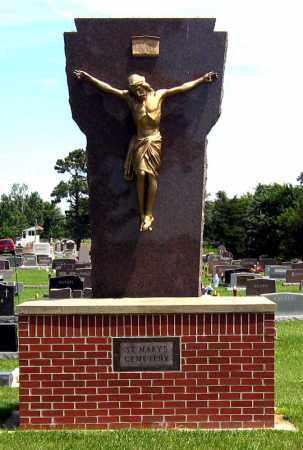 *SAINT MARYS, STATUE - 3 - Hanson County, South Dakota   STATUE - 3 *SAINT MARYS - South Dakota Gravestone Photos
