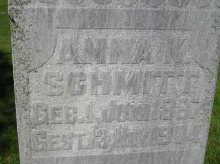SCHMITT, ANNA K. - Hanson County, South Dakota | ANNA K. SCHMITT - South Dakota Gravestone Photos