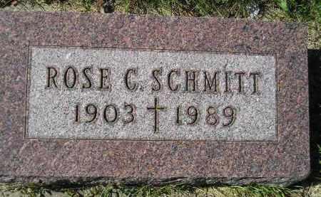 SCHMITT, ROSE C. - Hanson County, South Dakota | ROSE C. SCHMITT - South Dakota Gravestone Photos