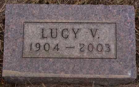SCHULTE, LUCY V - Hanson County, South Dakota | LUCY V SCHULTE - South Dakota Gravestone Photos