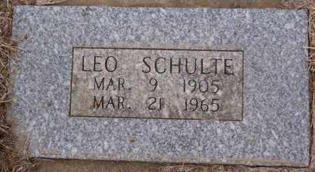 SCHULTE, LEO - Hanson County, South Dakota | LEO SCHULTE - South Dakota Gravestone Photos
