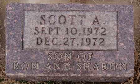 SCHULTE, SCOTT A - Hanson County, South Dakota | SCOTT A SCHULTE - South Dakota Gravestone Photos