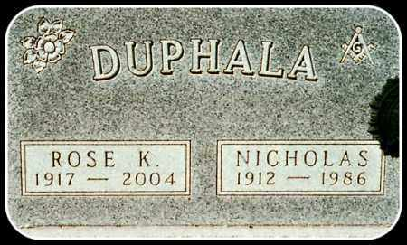 DUPHALA, ROSE K. - Hughes County, South Dakota | ROSE K. DUPHALA - South Dakota Gravestone Photos