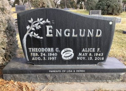 ENGLUND, THEODORE C. - Hughes County, South Dakota | THEODORE C. ENGLUND - South Dakota Gravestone Photos