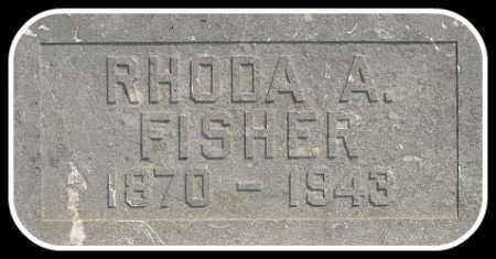 FISHER, RHODA - Hughes County, South Dakota   RHODA FISHER - South Dakota Gravestone Photos