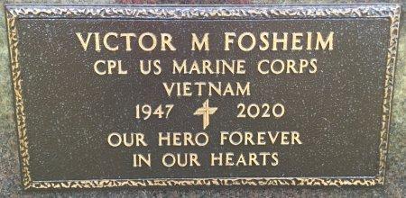 FOSHEIM, VICTOR M. (MILITARY) - Hughes County, South Dakota   VICTOR M. (MILITARY) FOSHEIM - South Dakota Gravestone Photos