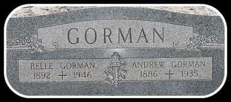 GORMAN, BELLE - Hughes County, South Dakota | BELLE GORMAN - South Dakota Gravestone Photos