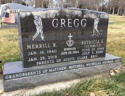 SCHMITZ GREGG, PATRICIA ANN - Hughes County, South Dakota   PATRICIA ANN SCHMITZ GREGG - South Dakota Gravestone Photos