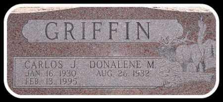 GRIFFIN, CARLOS J. - Hughes County, South Dakota | CARLOS J. GRIFFIN - South Dakota Gravestone Photos