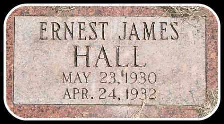 HALL, ERNEST JAMES - Hughes County, South Dakota | ERNEST JAMES HALL - South Dakota Gravestone Photos