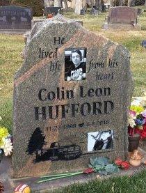 HUFFORD, COLIN LEON - Hughes County, South Dakota | COLIN LEON HUFFORD - South Dakota Gravestone Photos