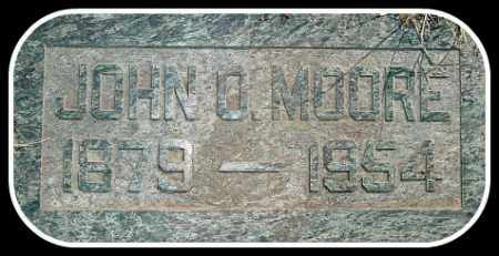 MOORE, JOHN O. - Hughes County, South Dakota | JOHN O. MOORE - South Dakota Gravestone Photos