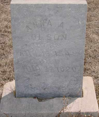 OLSON, ANNA A. - Hughes County, South Dakota | ANNA A. OLSON - South Dakota Gravestone Photos