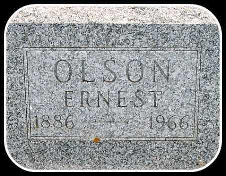 OLSON, ERNEST - Hughes County, South Dakota   ERNEST OLSON - South Dakota Gravestone Photos