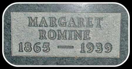 ROMINE, MARGARET - Hughes County, South Dakota | MARGARET ROMINE - South Dakota Gravestone Photos