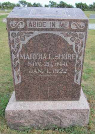 TRAMEL SHORE, MARTHA - Hughes County, South Dakota | MARTHA TRAMEL SHORE - South Dakota Gravestone Photos