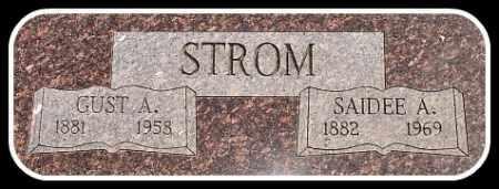 STROM, GUST A. - Hughes County, South Dakota   GUST A. STROM - South Dakota Gravestone Photos