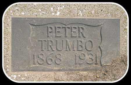 TRUMBO, PETER - Hughes County, South Dakota   PETER TRUMBO - South Dakota Gravestone Photos