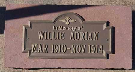 ADRIAN, WILLIE - Hutchinson County, South Dakota | WILLIE ADRIAN - South Dakota Gravestone Photos