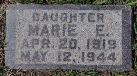 AHRENDT, MARIE E - Hutchinson County, South Dakota | MARIE E AHRENDT - South Dakota Gravestone Photos