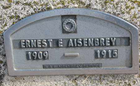 AISENBREY, ERNEST E. - Hutchinson County, South Dakota | ERNEST E. AISENBREY - South Dakota Gravestone Photos