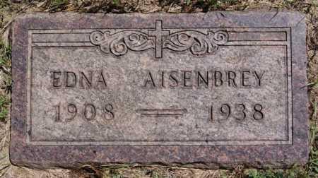 AISENBREY, EDNA - Hutchinson County, South Dakota | EDNA AISENBREY - South Dakota Gravestone Photos