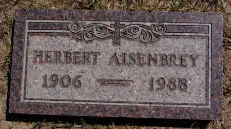 AISENBREY, HERBERT - Hutchinson County, South Dakota | HERBERT AISENBREY - South Dakota Gravestone Photos