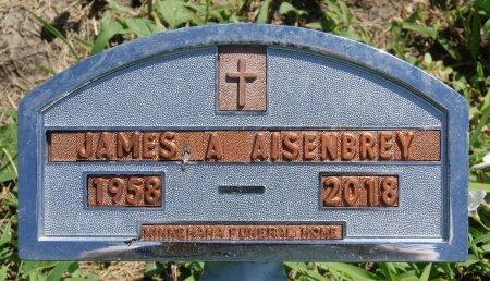AISENBREY, JAMES A - Hutchinson County, South Dakota | JAMES A AISENBREY - South Dakota Gravestone Photos