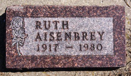 AISENBREY, RUTH - Hutchinson County, South Dakota | RUTH AISENBREY - South Dakota Gravestone Photos