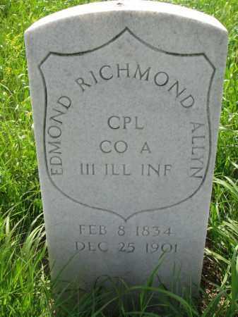 ALLYN, EDMOND RICHMOND - Hutchinson County, South Dakota | EDMOND RICHMOND ALLYN - South Dakota Gravestone Photos