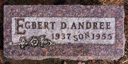 ANDREE, EGBERT D - Hutchinson County, South Dakota | EGBERT D ANDREE - South Dakota Gravestone Photos