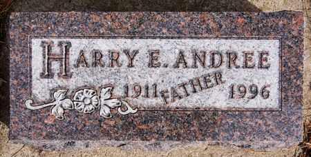 ANDREE, HARRY E - Hutchinson County, South Dakota | HARRY E ANDREE - South Dakota Gravestone Photos