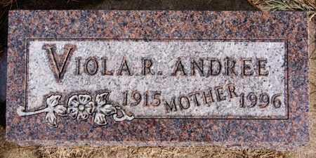 ANDREE, VIOLS R - Hutchinson County, South Dakota | VIOLS R ANDREE - South Dakota Gravestone Photos