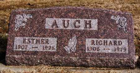 AUCH, RICHARD - Hutchinson County, South Dakota | RICHARD AUCH - South Dakota Gravestone Photos