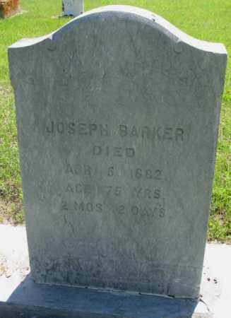 BARKER, JOSEPH - Hutchinson County, South Dakota | JOSEPH BARKER - South Dakota Gravestone Photos