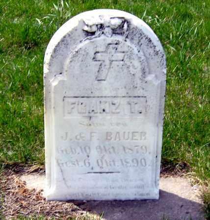 BAUER, FRANZ - Hutchinson County, South Dakota | FRANZ BAUER - South Dakota Gravestone Photos