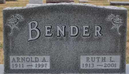 BENDER, ARNOLD A - Hutchinson County, South Dakota | ARNOLD A BENDER - South Dakota Gravestone Photos