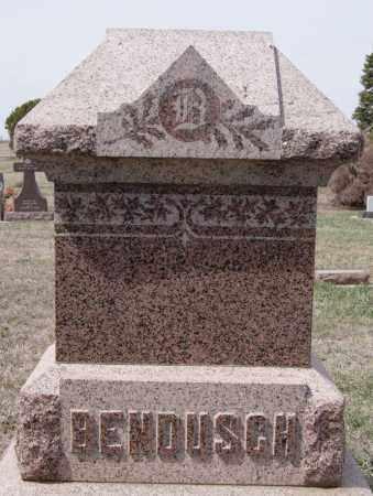 BENDUSCH, FAMILY MARKER - Hutchinson County, South Dakota | FAMILY MARKER BENDUSCH - South Dakota Gravestone Photos