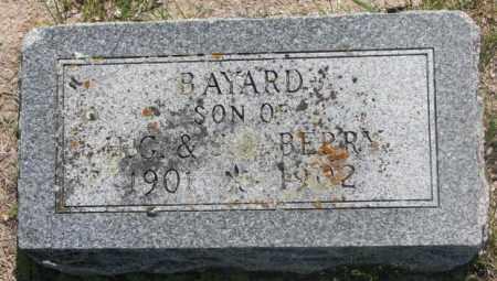 BERRY, BAYARD - Hutchinson County, South Dakota   BAYARD BERRY - South Dakota Gravestone Photos