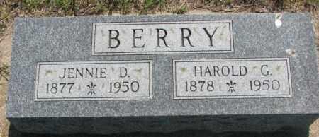 BERRY, HAROLD G. - Hutchinson County, South Dakota | HAROLD G. BERRY - South Dakota Gravestone Photos
